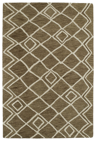 Kaleen Casablanca CAS04 Brown Area Rug