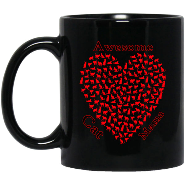 mothers day black coffee mug 11 oz