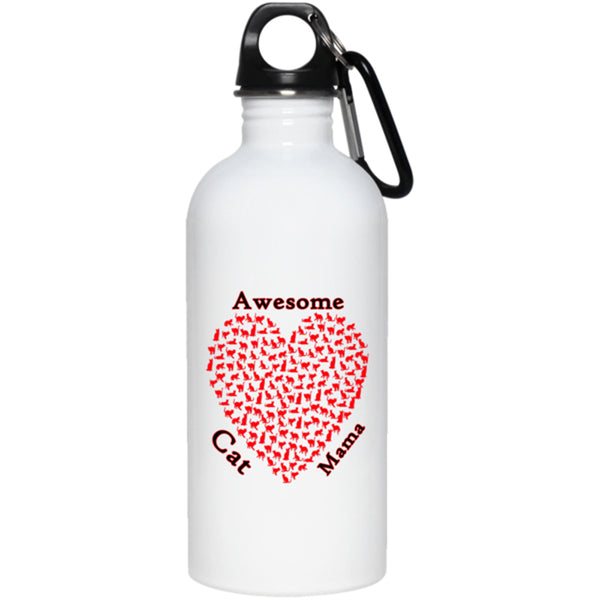 mothers day white water bottle 20 oz