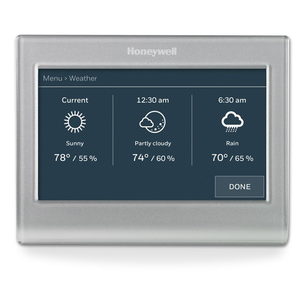 Honeywell Wi-Fi Color Touchscreen Programmable Thermostat image 1228287934478
