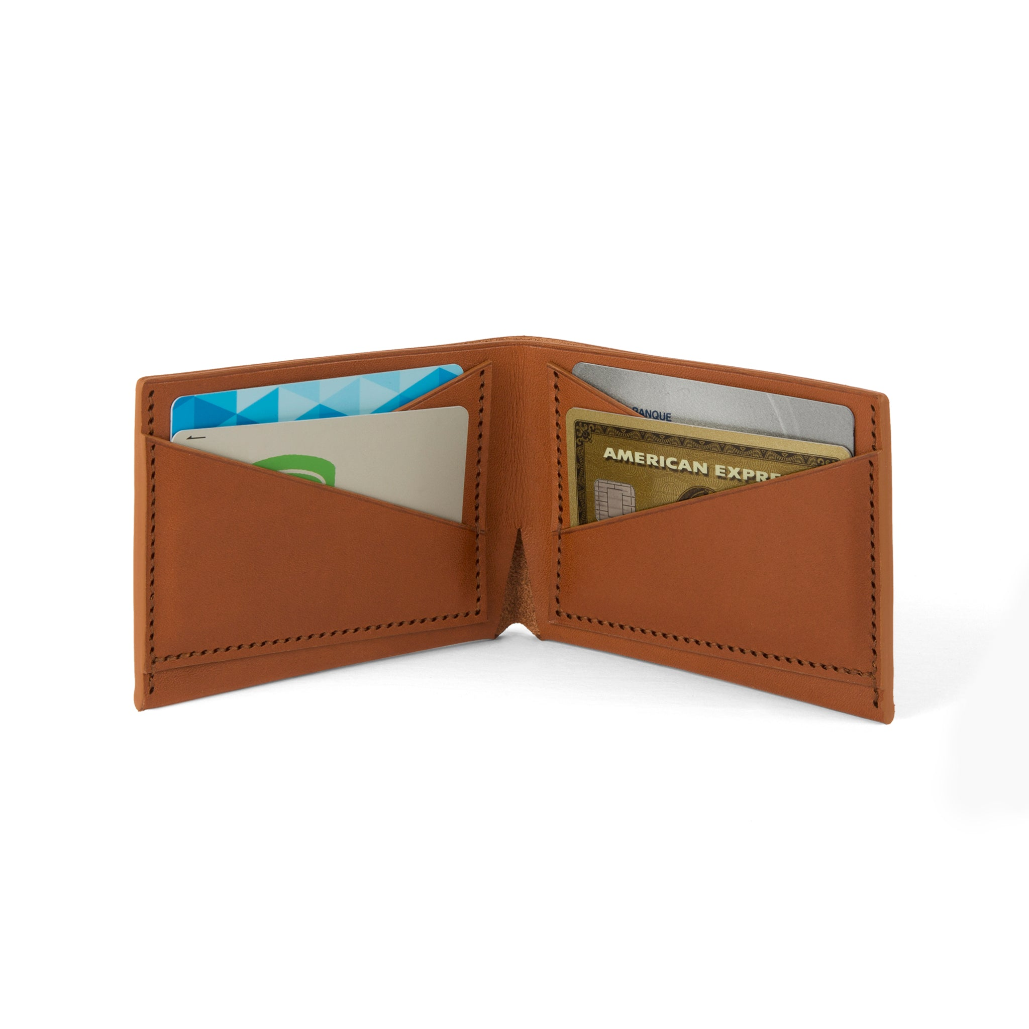 The Summerville Bi-Fold Wallet - Tochigi Cigar - Lajoie