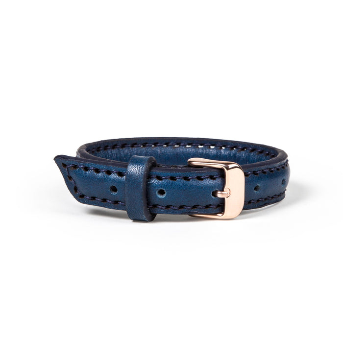 The Vacation (S) - Horween Navy Blue Pebbled Essex - Lajoie