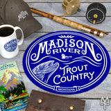 Shop Madison River metal wall signs by Montana Treasures