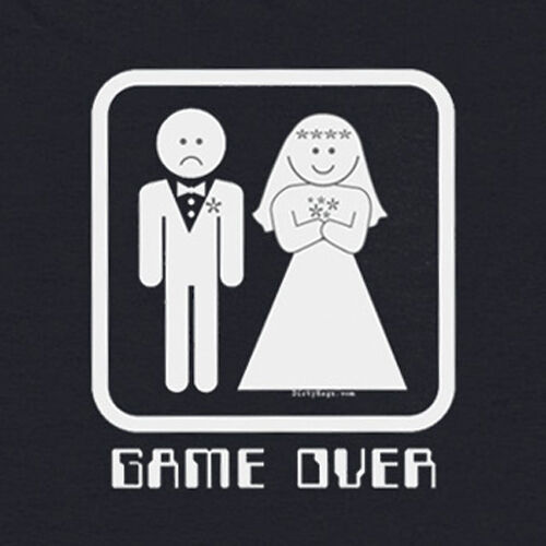 Game Over Black Tee