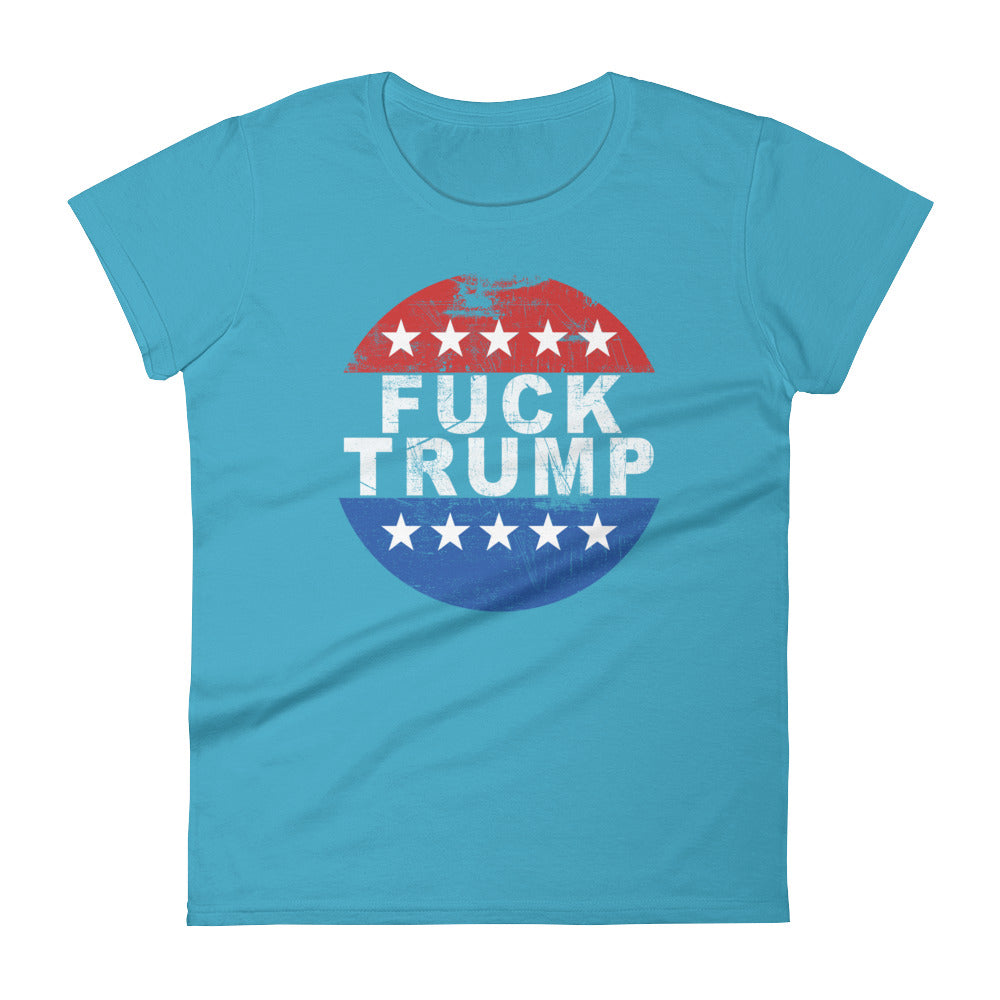 women's fuck trump tee