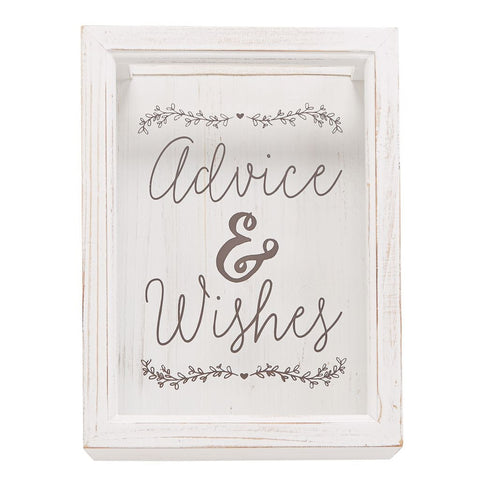 Advice & Wishes Keepsake Box