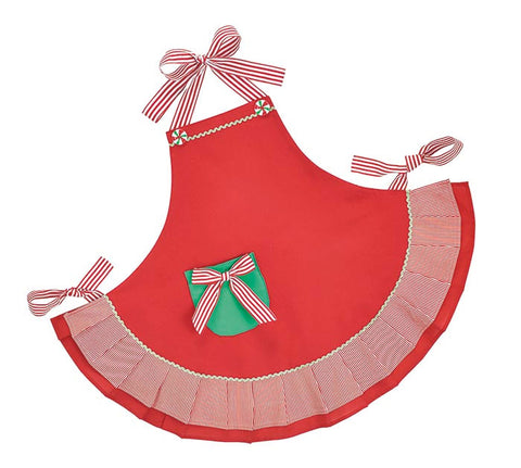 Christmas Red & Green Apron