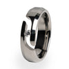 Ascent Journey Cut Titanium Ring