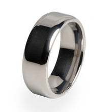 Simple yet Beautiful, traditionally styled Titanium ring.  Wedding ring or for any special occasion.