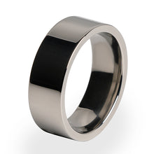 A simple yet beautiful design. A Titanium ring perfect for weddings and special occasions.