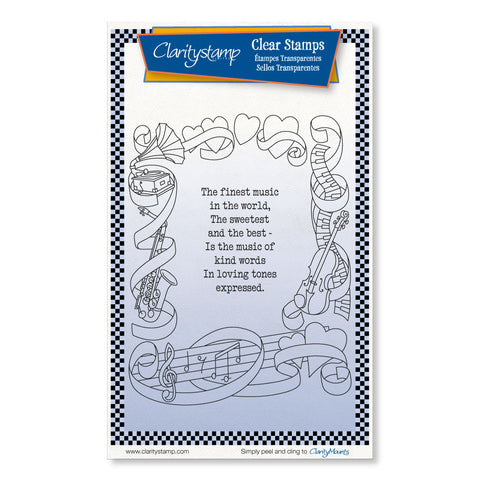The Finest Music <br/> A6 Unmounted Stamp Set