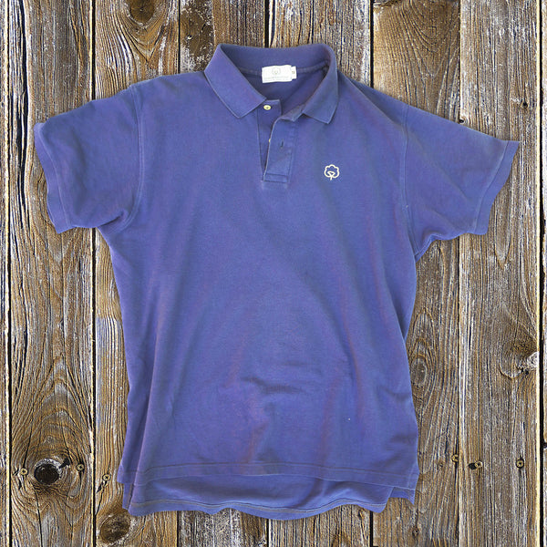 Men's Cotton Moultrie Blue Polo