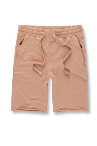 Palma French Terry Shorts (Blush)