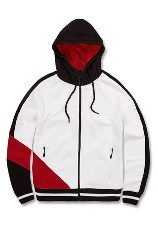 Richmond Zip Up Hoodie (Red)
