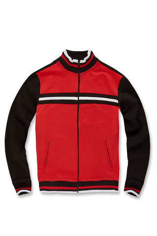 Jordan Craig - Big Men's Palermo Track Jacket (Red)