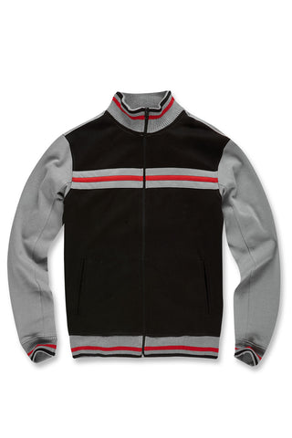 Jordan Craig - Big Men's Palermo Track Jacket (Black)