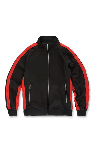 Oxford Track Top (Black Infrared)