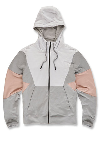 Jordan Craig - Aventura Zip Up Hoodie (Blush)