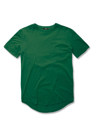 Kids Scallop T-Shirt (Money Green)