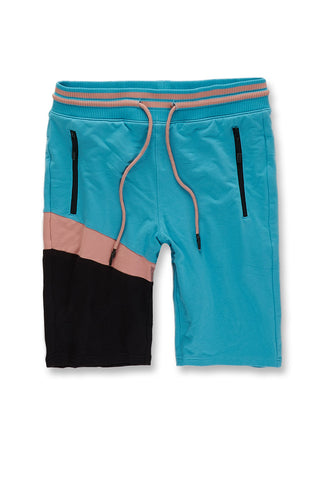 Nassau Knit Shorts (Black Coral)