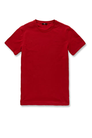 Premium Crewneck T-Shirt (Red)