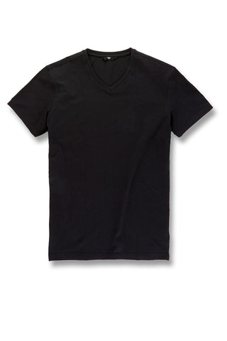 Premium V-Neck T-Shirt (Black)