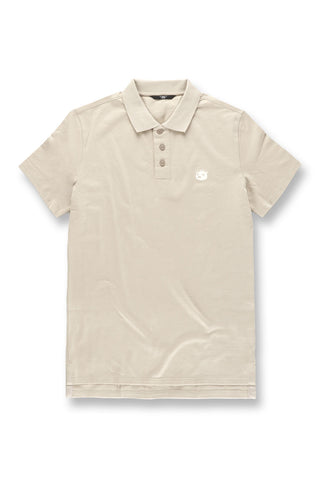 Plush Bear Polo Shirt (Sand)