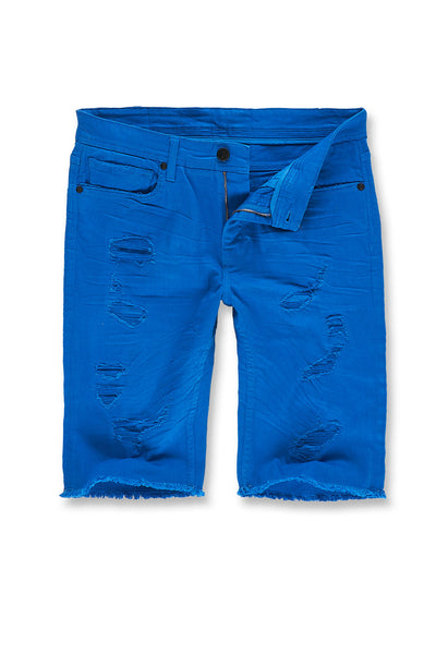 Memphis Twill Shorts 2.0 (Royal)