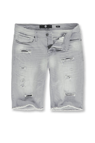 Jordan Craig - Big Men's Wynwood Denim Shorts (Cement Wash)