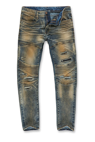 Jordan Craig - Aaron - Bergen Moto Denim (Copper Wash)