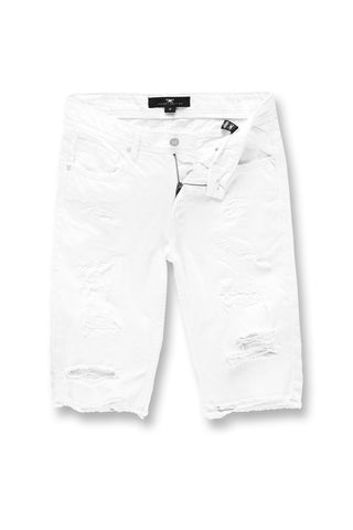 Jordan Craig - Desperado Twill Shorts (White)