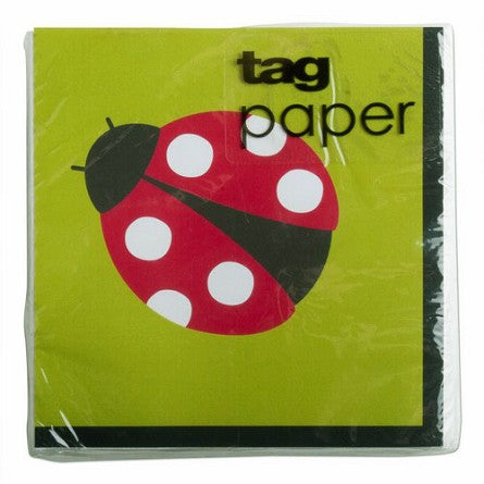 Lady Bug Cocktail Napkins - D & D Collectibles