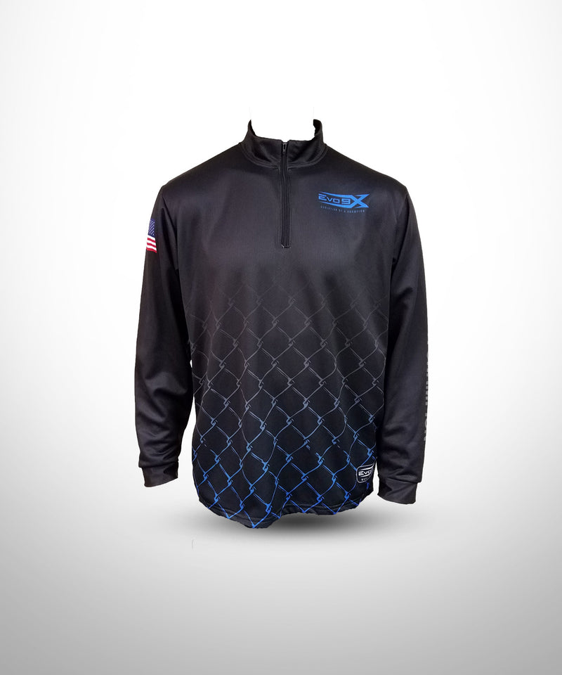 Full Dye Sublimated 1/4 Zip Pullover