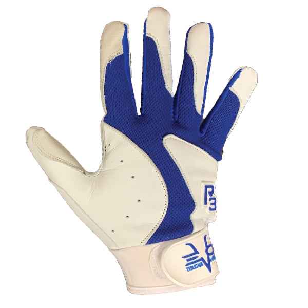 R3 BATTING GLOVES BLUE