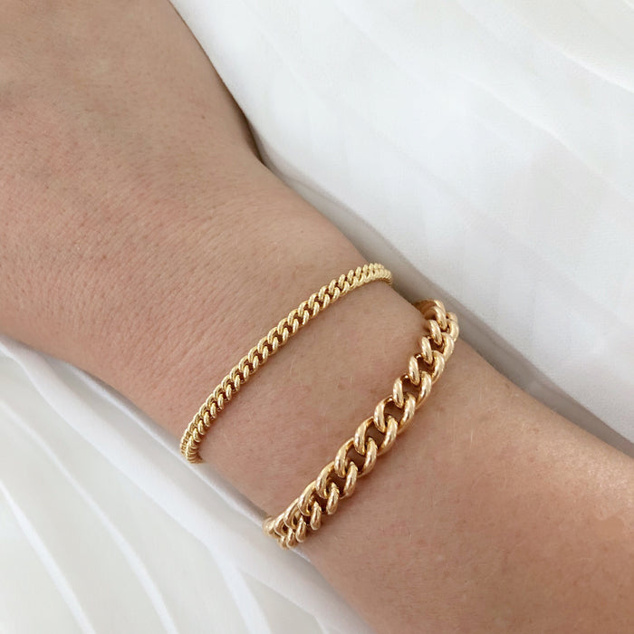 TOUS LES JOURS STACK (14K GOLD FILLED OR 925 STERLING SILVER)