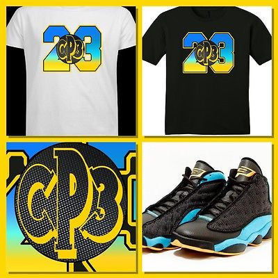 EXCLUSIVE TEE SHIRT to match the NIKE AIR JORDAN 13 XIII CP3'S!