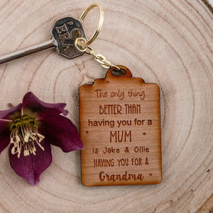 The only thing better - Keyring