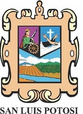 San Luis Potosí Mexico. Coat Of Arms Decal Sticker Full Color/Weather Proof.