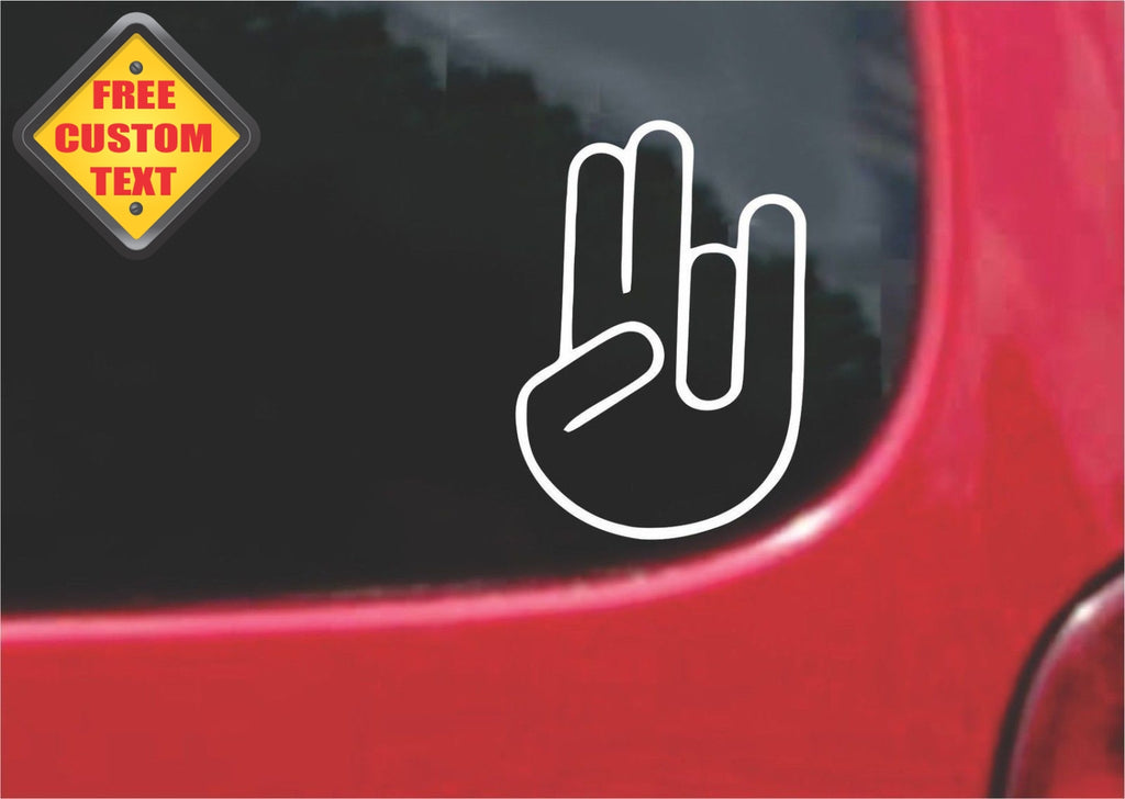 JDM The Shocker Sticker Decal 20 Colors To Choose From.