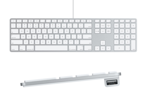 apple usb wired keyboard with numeric keypad mac city australia. Black Bedroom Furniture Sets. Home Design Ideas