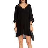 Jets Kaftan J60508 | SHEEN UNCOVERED, Black