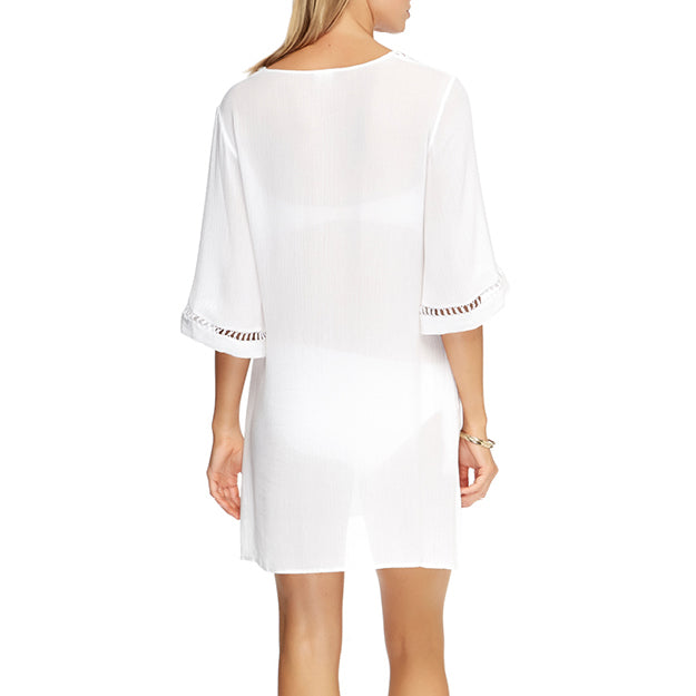 ets Kaftan Back J60508 | SHEEN UNCOVERED, White