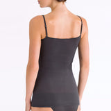 Ultralight spaghetti top back, Black