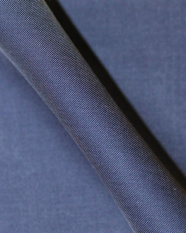 Pure Egyptian Cotton Solid Blue Shirt F.17.0916