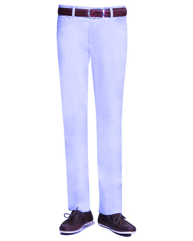 SKY BLUE CASUAL TROUSER