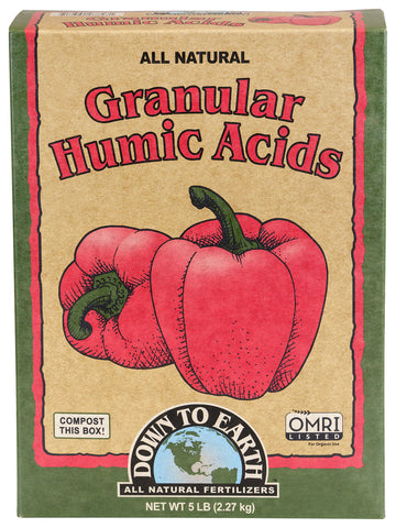 Down To Earth Humic Acid - 5LB