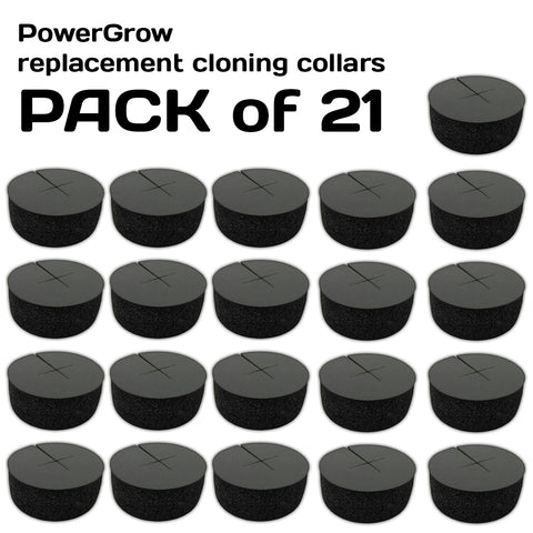 Replacement Neoprene Inserts for PowerGrow Cloner (21 pieces)