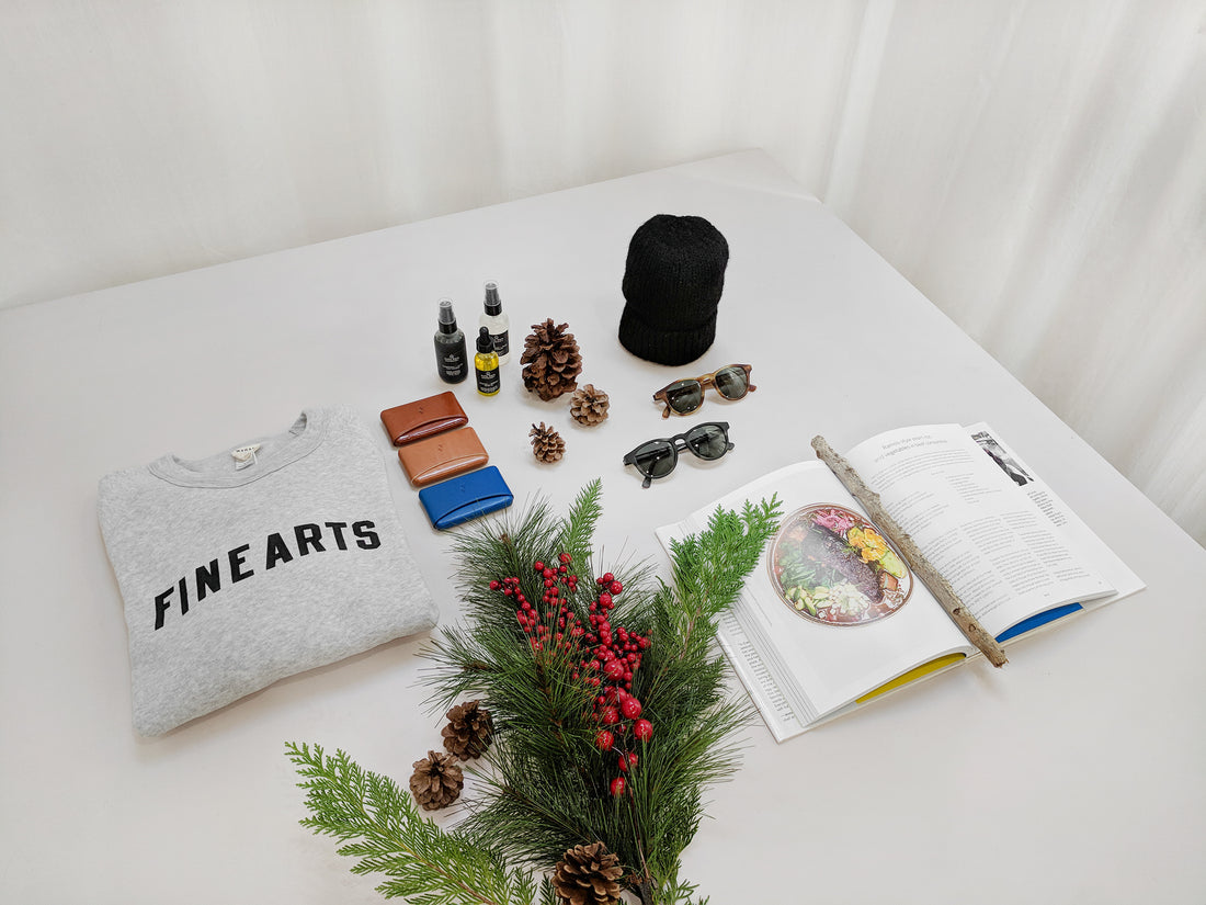2017 Sustainable + Ethical Gift Guide: for him