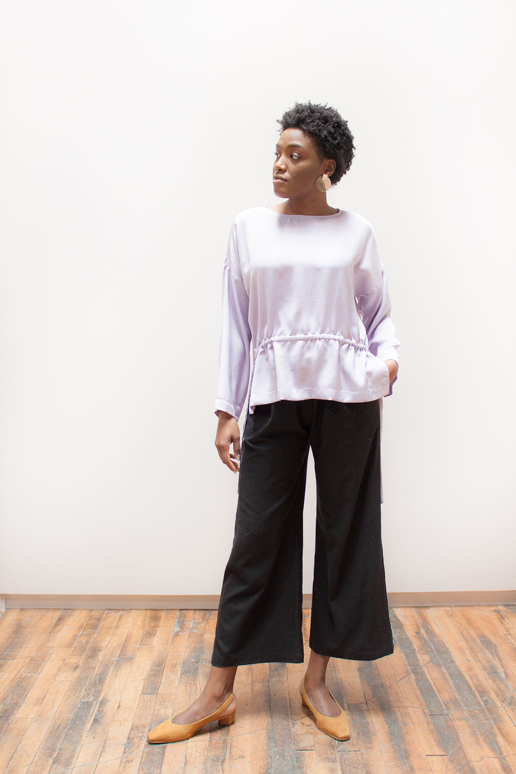 Winsome Goods | Exclusive Lilac Rita Top | Hazel & Rose