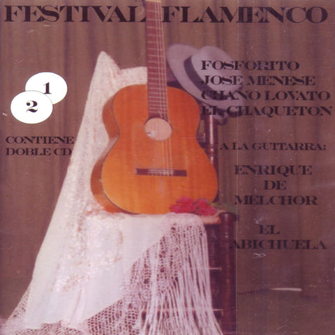 Image of Various Artists, Festival Flamenco, 2 CDs